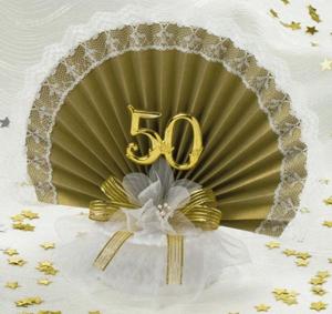 Украшения зала на золотую свадьбу 49