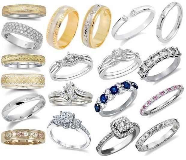 какие обручальные кольца в моде 2015