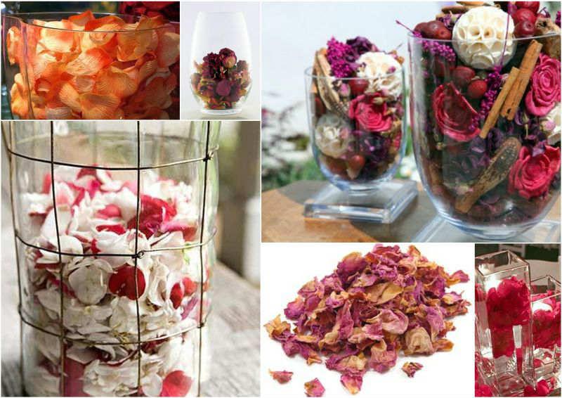 Поделки из лепестков роз: как