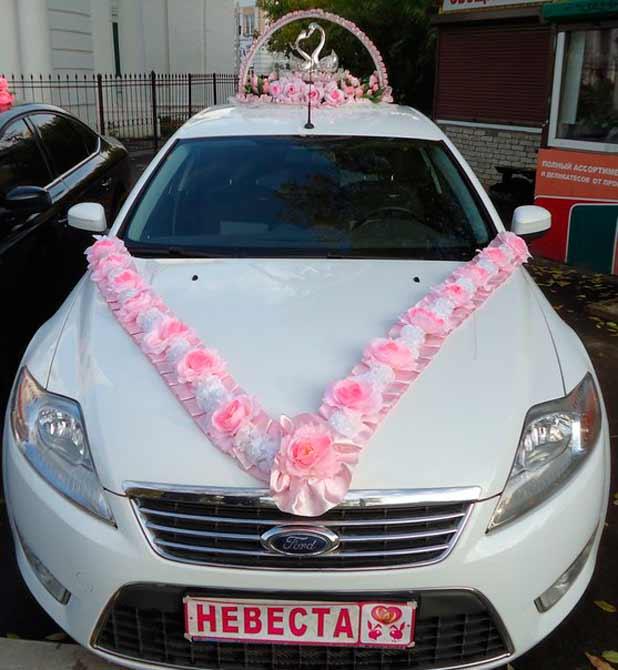 Как сшить на машину свадебное украшение на 263