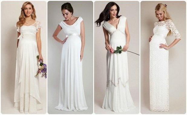 Платья для беременных на свадьбу