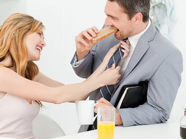Совет молодой невесте: поддерживайте мужа