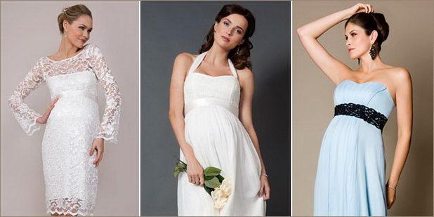 Свадебные платья беременным