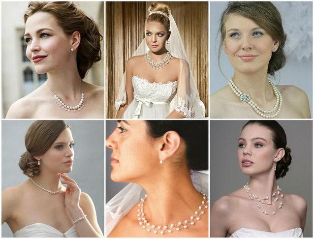 Украшения - стильные аксессуары невесты
