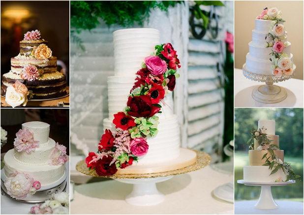 Впечатляющий торт на свадьбу