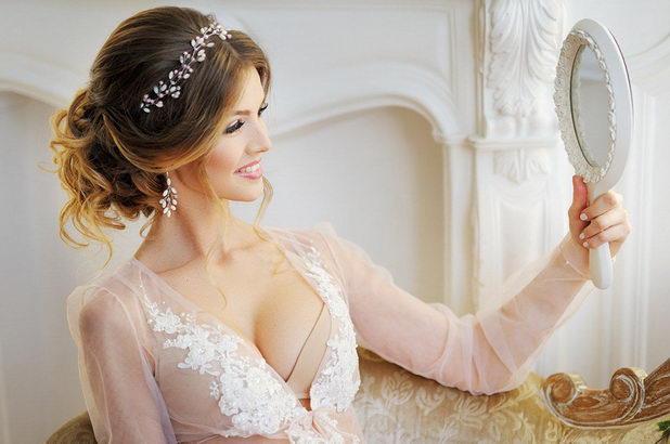 Как выглядит невеста без фаты?