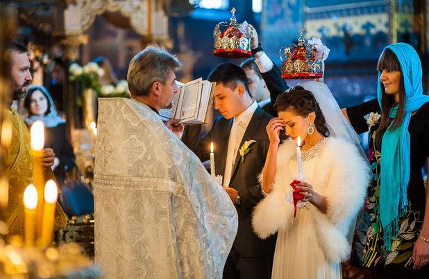Обряд таинства венчания в церкви