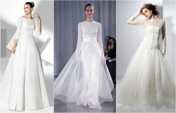 Платье невесты для венчания