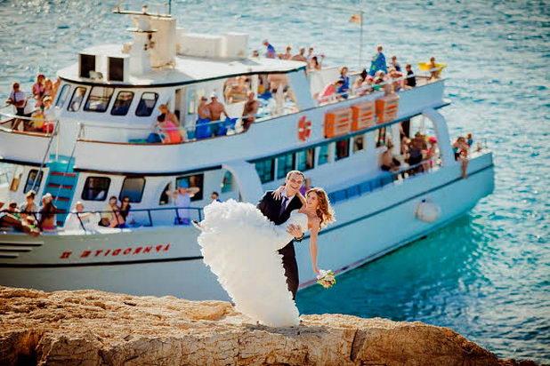 Проведение классической свадьбы на корабле