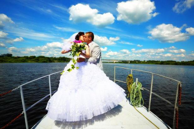 Свадьба на корабле понравится всем