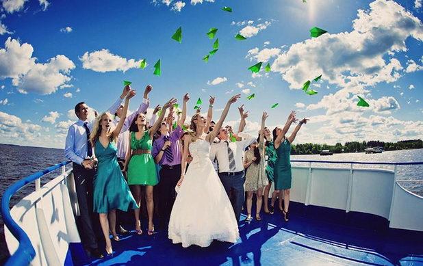 Свадьба на теплоходе - осуществи мечту