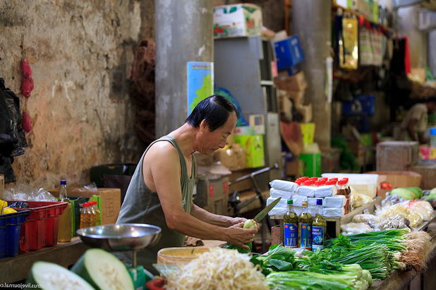 Рынок на Маврикии