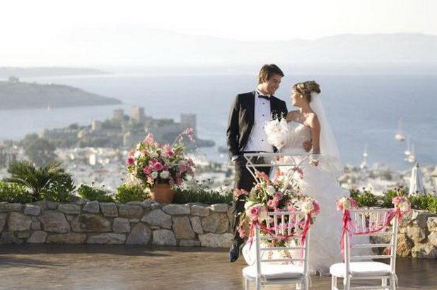 Свадьба в Бодруме Турция