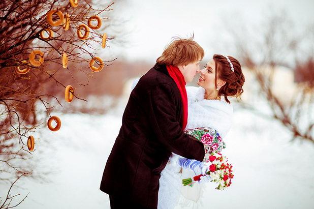 Свадебная церемония в марте