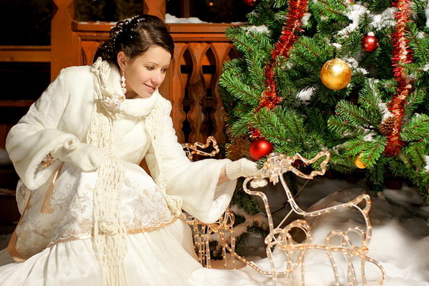 Новогодняя свадьба