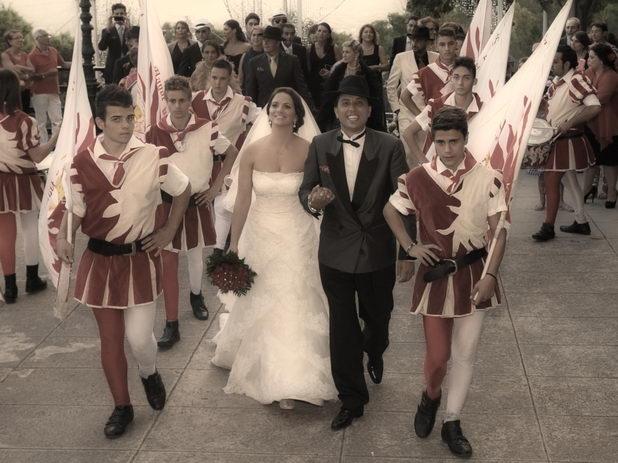 Традиционная сицилийская свадьба