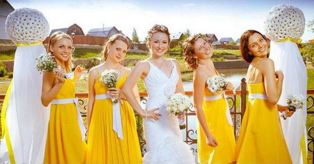Дресс-код подружек невесты