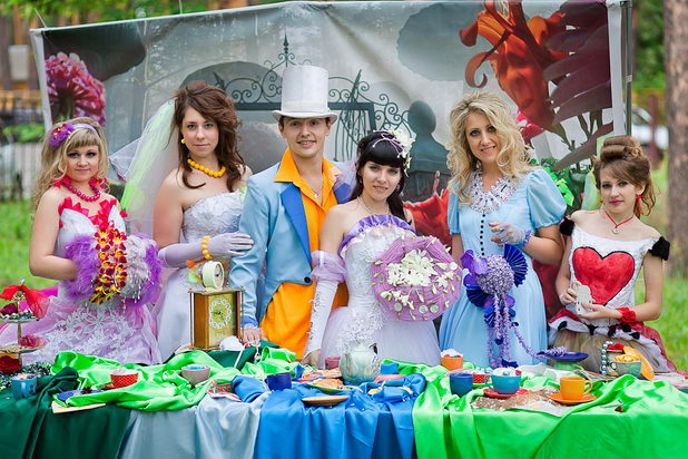 Свадьба в стиле сказки