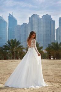 Свадебная мода открытая спина