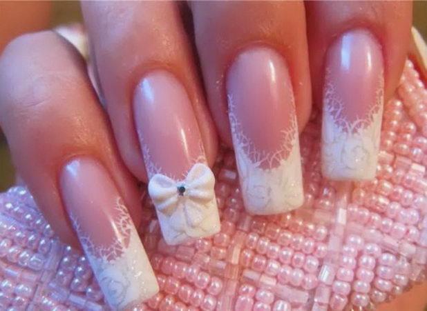 Свадебный дизайн ногтей: лучшие идеи