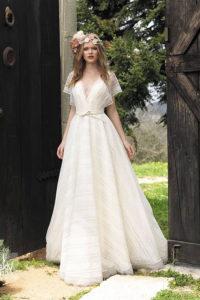 Свадебное платье в богемном стиле