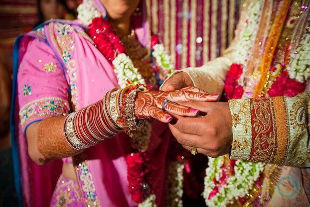 Индийская свадьба: венчание