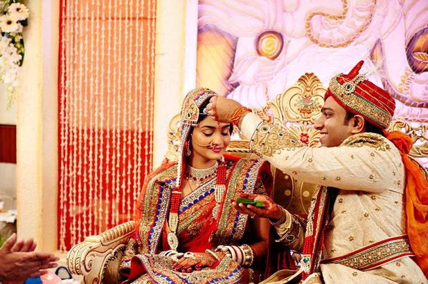 Настоящая свадьба в Индии