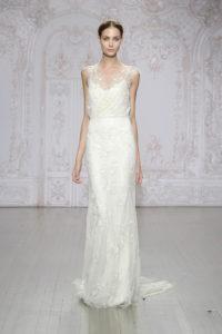 Платье колонна для невесты