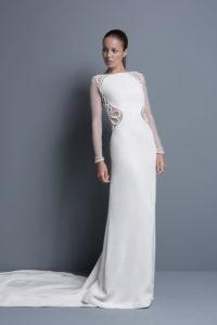 Платье колонна
