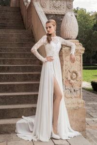 Соблазниетельное свадебное платье