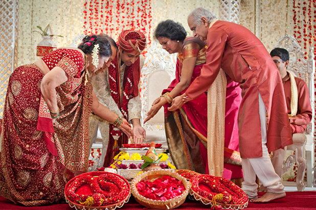 Традиционная свадьба в Индии