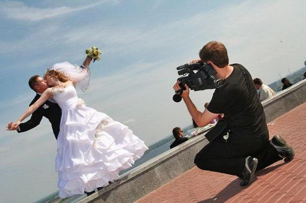Съемка видео на свадьбе