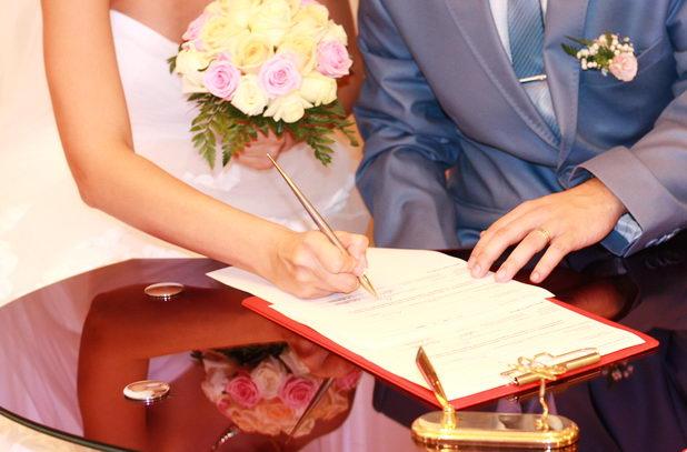Регистрация брака во время беременности