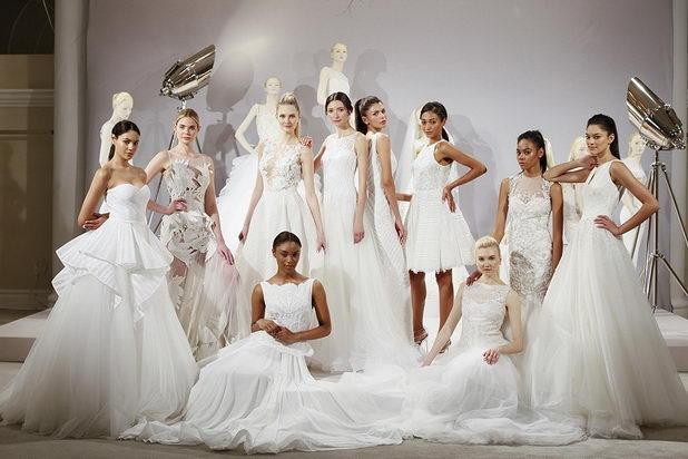 История современного свадебного платья
