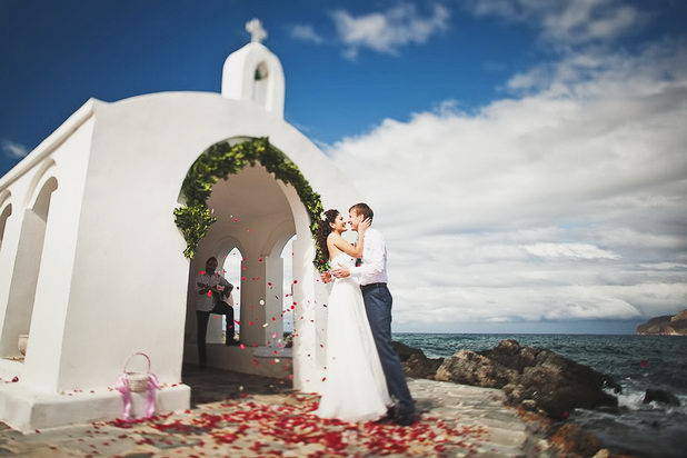 Регистрация свадьбы на Крите
