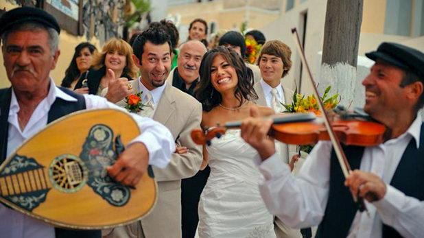 Проведении традиционной свадьбы на Крите