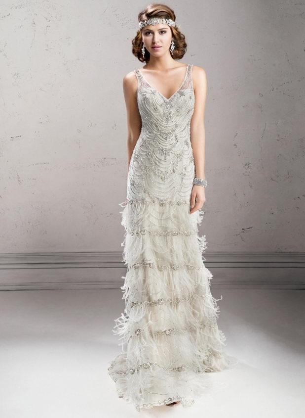 Платье на свадьбу в стиле ретро