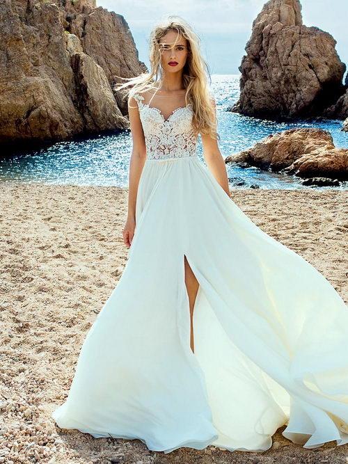 Романтичное платье на свадьбу