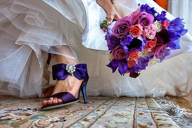 Какую одеть обувь на свадьбу?