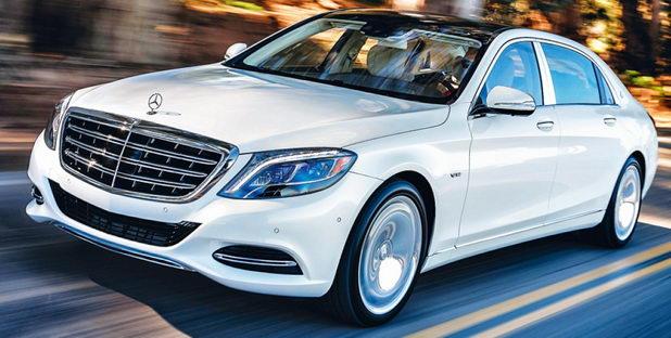 Автомобиль для свадьбы Mercedes S600