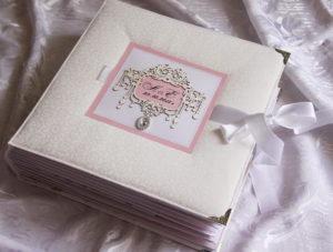 Красивый свадебный фотоальбом