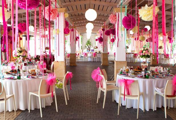 Как украсить банкетный зал на свадьбу? Эффектное оформление