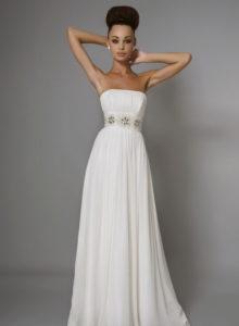 Невеста в платье ампир