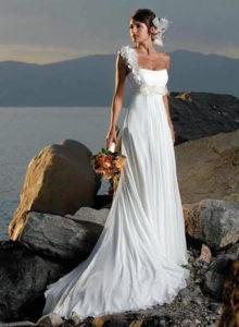 Утонченный стиль платья