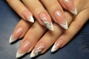 Заостренные ногти