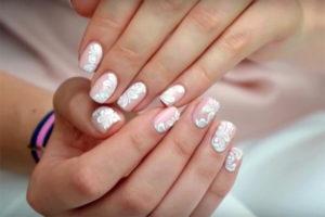 Дизайн ногтей на свадьбу