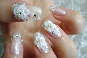 Современный дизайн ногтей для свадьбы