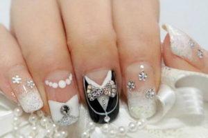 Фото уникального оформления ногтей