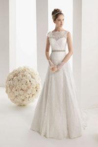 Свадебные платья А-силуэта от дизайнеров