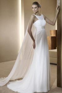 Лучшее свадебное платье в греческом стиле